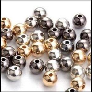 Perlen Metalloptik
