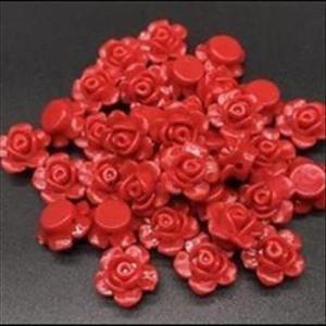 Perlen Blumen Blätter