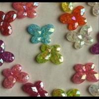 Perlen Schmetterlinge