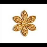 Platten Blumen & Blätter