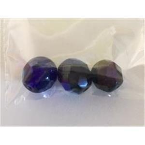1 Beutel Glasschliffperlen 8-9mm