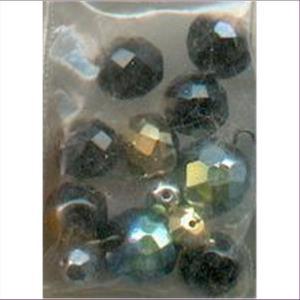 12  Glasschliffperlen