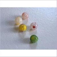 5 Mini Millefiore-Perlen