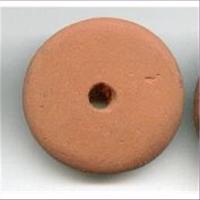 1 Keramikperle Scheibe