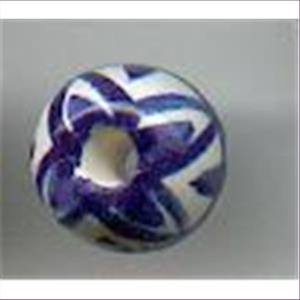 1 Keramikperle 13x15mm