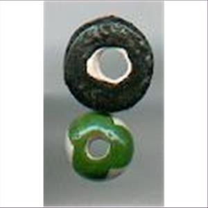 2 Keramikperlen gemischt