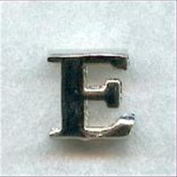 """1 Metall-Buchstabe """"E"""""""