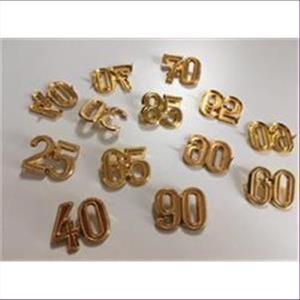1 Metall-Zierteil 25