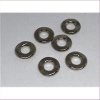6 Acryl  Perlen-Zwischenteile