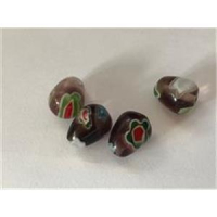 5 Millefiore-Perlen
