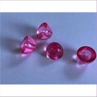 1 Beutel Acryl Halb-Perlen