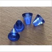 1 Beutel  Acrylperlen Kegel