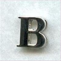 "1 Metall-Buchstabe ""B"""