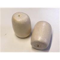 2 Holzperlen 15-25mm