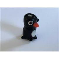 1 Glasperle Pinguin