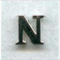 """1 Metall-Buchstabe """"N"""""""