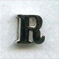 "1 Metall-Buchstabe ""R"""