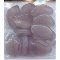 1 Beutel Glasperlen Blätter 15x4mm
