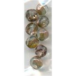 8 Glasschliffperlen