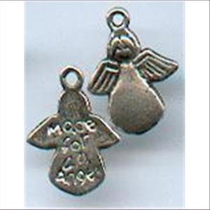 2 Metall-Anhänger Engelchen