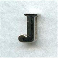 "1 Metall-Buchstabe ""J"""