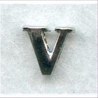 "1 Metall-Buchstabe ""V"""