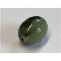 1 Acrylperle Olive grün