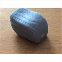 1 Acrylperle Holzoptik hellblau