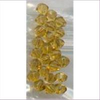24 Glasschliff-Perlen