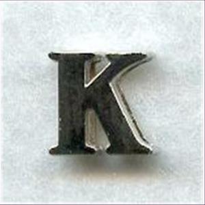 "1 Metall-Buchstabe ""K"""