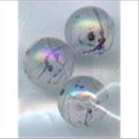 3 Acrylperlen m. Schlieren 10mm cristall