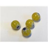 4 Millefiore-Perlen