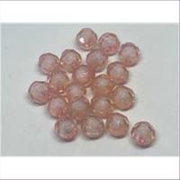 20 Acrylperlen AB rosa