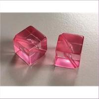1 Beutel Acrylperlen 14mm