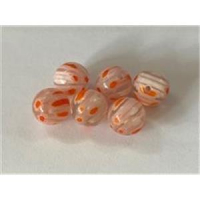 6 Millefiore-Perlen