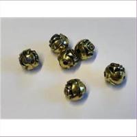 6 Acrylperlen Rosenperlen