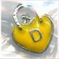 1 Metallanhänger Herz