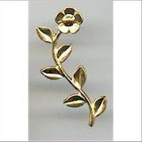 1 Metall-Zierteil Streuteil Blume