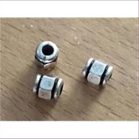 3 Acrylperlen Zwischenteile