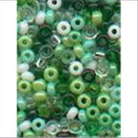 18gr.  Rocailles grün mix