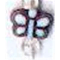 1 Acryl-Schmetterling weiß