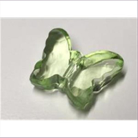 1 Acryl Schmetterling grün