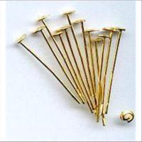 24 Nietstifte 24mm goldfarbig