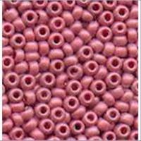 18gr.  Rocailles matt rosa