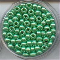 40gr. Dose Silbereinzug Rocailles metallic grün