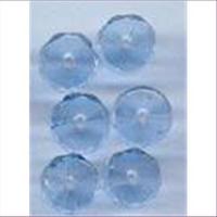 6 Glasschliffperlen