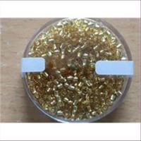 20gr.  Rocailles cristall goldeinzug