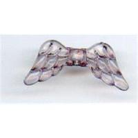 1 Acryl Flügelperle20x9mm