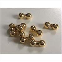 8 Wachs-Perlen Knochenperlen 6mm