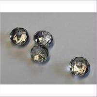 4 Glasschliffperlen